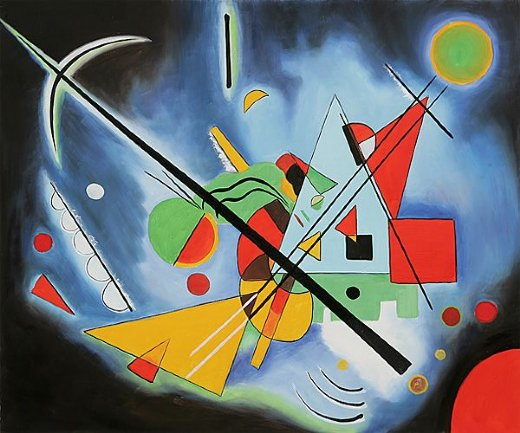 wassily kandinsky blue paintin painting - wassily ...