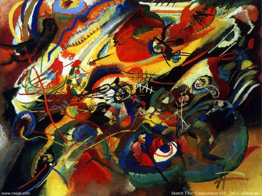 Shopping wassily kandinsky sketch for compo 7 painting ...