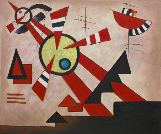 wassily kandinsky untitled ii painting