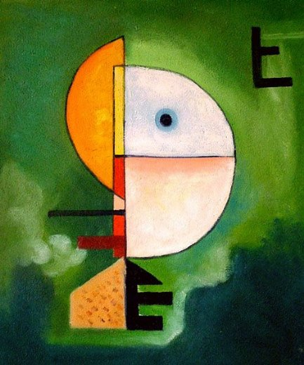 wassily kandinsky upwards painting