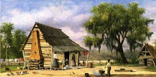 william aiken walker cabin scene ii painting