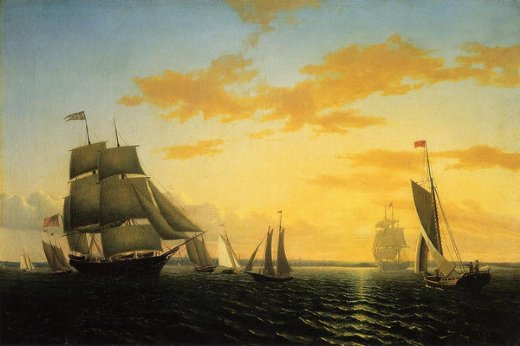 Sunset Paintings By Famous Artists. By artist: william bradford