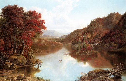 william mason brown autumn landscape painting