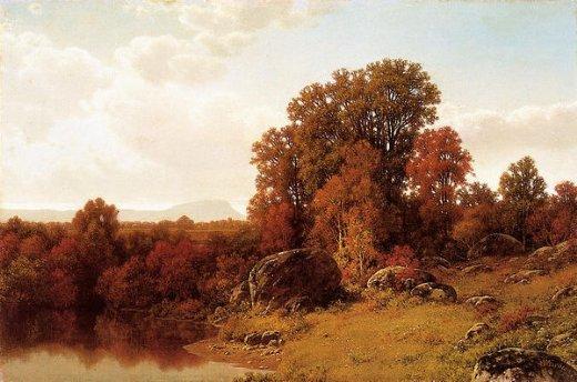 Paintings of Autumn Scenes Painting Autumn Scene on The