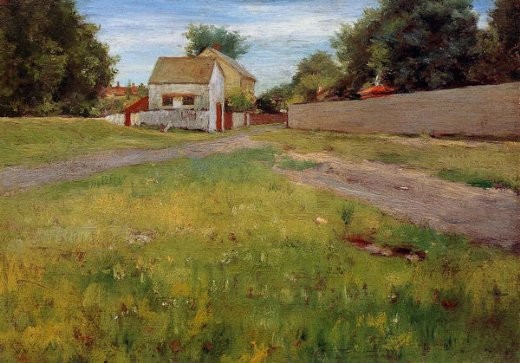 william merritt chase brooklyn landscape paintings