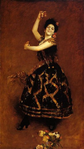 william merritt chase carmencita painting