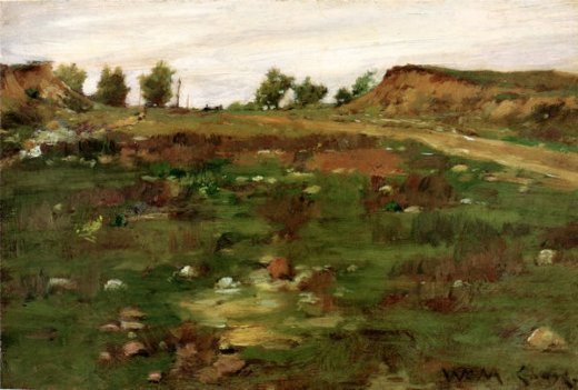 william merritt chase shinnecock hills painting