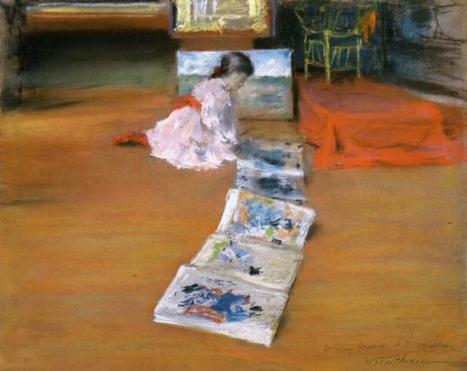 william merritt chase shinnecock interior studio paintings