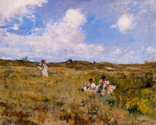 william merritt chase shinnecock landscape v paintings