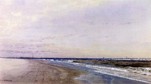 william trost richards abescon light atlantic city nj painting