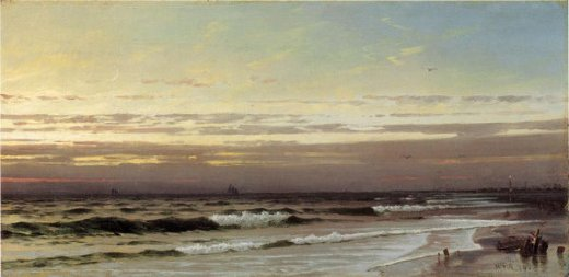 william trost richardsalong the atlantic coast Painting-22308