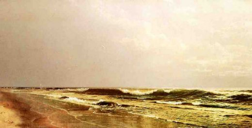 william trost richards atlantic seascape paintings