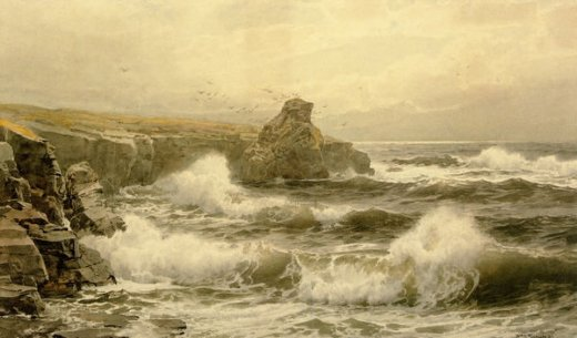 william trost richards breaking water posters