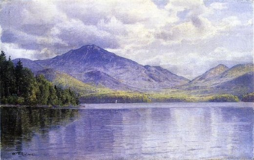 william trost richards lake placid adirondack mountains posters
