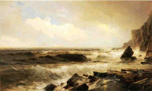 william trost richards new england seascape paintings