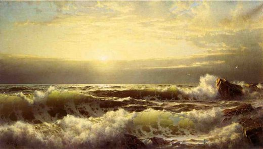 william trost richards off conanicut newport paintings