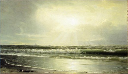 william trost richards off newport painting