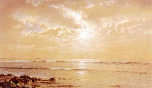 william trost richards on the beach paintings