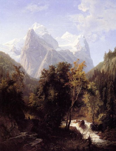 william trost richards path through the mountains paintings