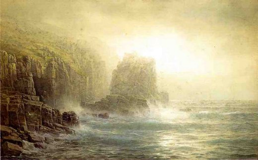 william trost richards seascape 10 painting