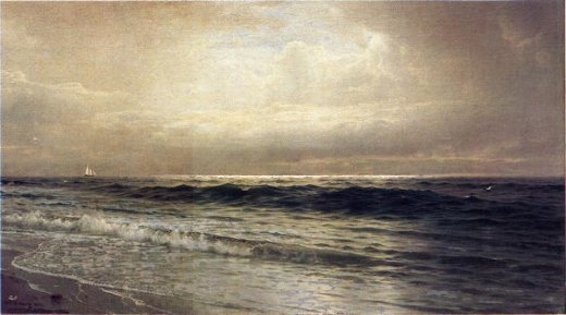 william trost richards seascape 4 paintings
