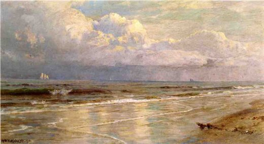 william trost richards seascape 7 painting