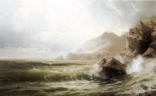 william trost richards sleive league donegal ireland painting