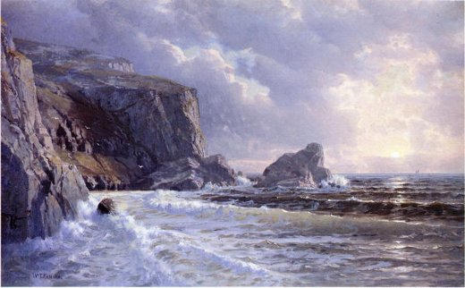 william trost richards st. margaret s well cornwell painting