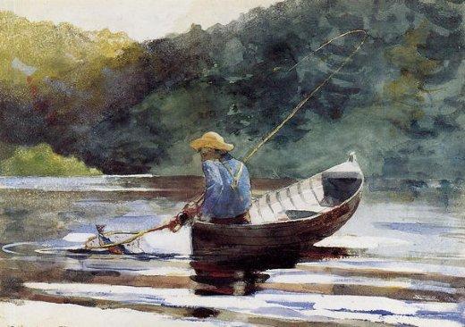 Omaž ribolovcu i ribolovu - Page 8 Winslow-homer-boy-fishing