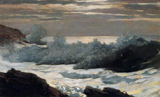 winslow homer early morning after a storm at sea painting