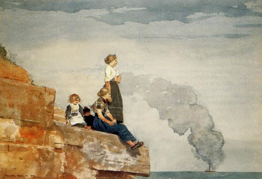 Shopping winslow homer fisherman s family painting ...