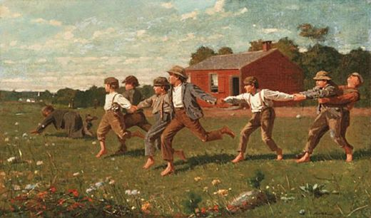 winslow homer snap the whip paintings