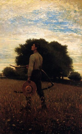 winslow homer song of the lark paintngs