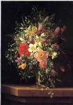 adelheid dietrich floral still life oil painting