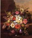 floral still life iv by adelheid dietrich painting