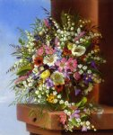 spring bouquet by adelheid dietrich painting