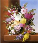 adelheid dietrich still life of flowers painting 82791