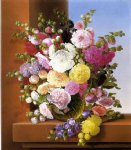 still life of flowers by adelheid dietrich painting