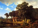 a rustic mill by albert bierstadt paintings