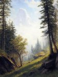 among the bernese alps by albert bierstadt painting