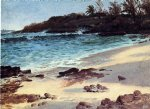 bahama cove by albert bierstadt painting