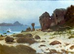 bay of monterey by albert bierstadt paintings
