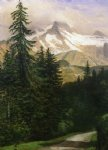 albert bierstadt landscape with snow painting 37700