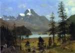 long s peak estes park colorado ii by albert bierstadt painting