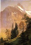 albert bierstadt mountain landscape painting 37720
