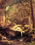 albert bierstadt the mountain brook paintings