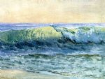 the wave by albert bierstadt painting