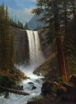 vernal falls by albert bierstadt painting