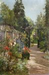 alfred de breanski the summer garden art