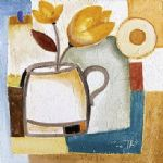 alfred gockel cup of flower i painting 78328